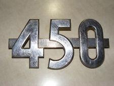 Vintage Farmall 450 Tractor Model Number Emblem Model Number Side Emblem Trim