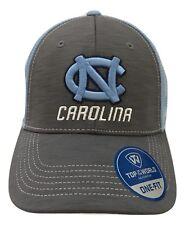 1X Top Of The World Blue & Gray UNC Carolina Logo One Fit Baseball Trucker Hat