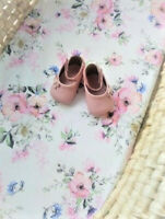 Moses basket Fitted sheet 70 x 30cm/  Flowers