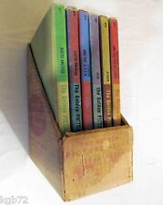 Golden Picture Atlas Goldencraft Library Binding 6 Book Set in Cardboard 1960