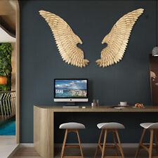 "50"" Metal Angel Wings Wall Art Distressed Vintage Rustic Hang Home Decor Gift"