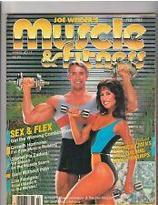 MUSCLE & FITNESS bodybuilding magazine/ARNOLD SCHWARZENEGGER/Rachel McLish 2-83