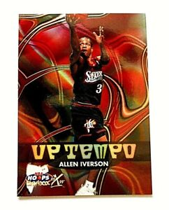 99/00 Skybox Hoops Allen Iverson Up Tempo NM