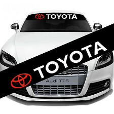 Toyota Transformers Front Rear Windshield Banner Decal Vinyl Car Window Sticker