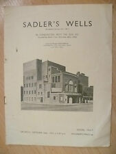 Sadler's Wells Ballad 1936-BARABAU,CASSE NOISETTE,PAS DE DEUX & GODS GO ABEGGING