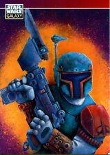 STAR WARS GALAXY SERIES 2 1994 TOPPS PROMO CARD P6 BOBA FETT