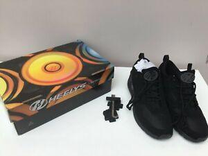 HEELYS Black Roller trainers -  UK Size 7 (40.5)  -Thames Hospice