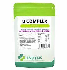 Lindens Vitamin B Complex (nine B vitamins) 100 Tablets