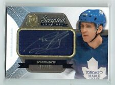 11-12 UD The Cup Scripted Swatches  Ron Francis  /35  Auto  Patch