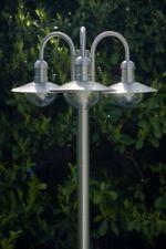 Laterne Gartenlaterne Kandelaber Außenlampe Stehleuchte Wegeleuchte Edelstahl