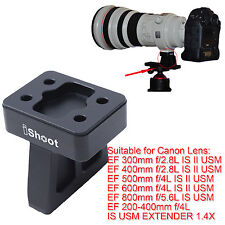 Lens Support Collar Tripod Mount Ring Foot for Canon EF 500mm f/4L IS II USM
