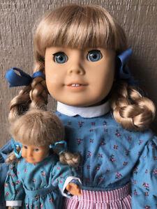 "American Girl Doll Kirsten 18"" Beautiful + Extras! Nightgown Mini Doll BuyitNow"