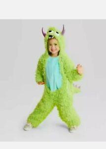 Hyde & Eek- Halloween Baby Toddler Monster Jumpsuit Costume 18-24 Months, Green