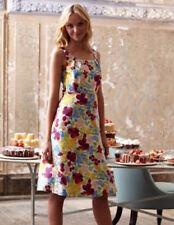 NWT  Boden Silk Cotton Floral Dress  Size US 18 *