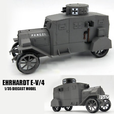 GERMAN Ehrhardt E-V/4 1/35 DIECAST MODEL FINISHED TANK ATLAS