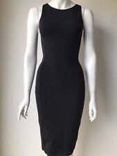 Guess by Marciano Pheobe Black Sheath Dress Size XS LBD Holiday Party
