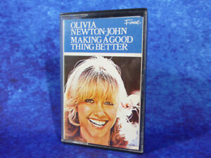 OLIVIA-NEWTON JOHN Making A Good Thing Better RARE AUDIO CASSETTE TAPE 1977 EMI
