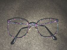Charmant 4228 Eyeglass Frames 54-19-140 Gum ball Color Pink And Blues Super Cute
