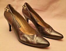 Stuart Weitzman for Mr Seymour Women Metallic Green/Bronze Shoes/Pumps Sz 7AAAA