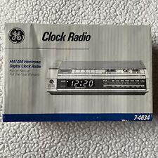 General Electric GE7-4634 Electronic Digital Alarm Clock Radio  New in box