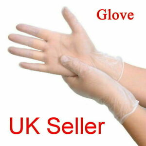 Disposable Gloves Powder Free 4 - 100 Strong Medical BS EN455 Fast Dispatch