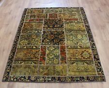 OLD WOOL HAND MADE PERSIAN ORIENTAL FLORAL RUNNER AREA RUG CARPET 195x135CM
