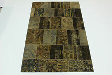 moderne Patchwork Délavé Used Look PERSAN TAPIS tapis d'Orient 3,03 X 2,00
