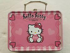 HELLO KITTY Collectible Tin Box - Lunch Box, New