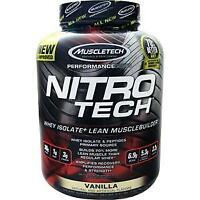 Muscletech Nitro Tech - Performance Series Vanilla 3.97 lbs