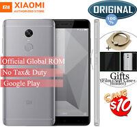 "Original 5.5"" Xiaomi Redmi Note 4X Snapdragon 625 32GB Octa Core 4G Phone New"