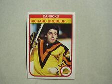 1982/83 O-PEE-CHEE NHL HOCKEY CARD #339 MARTIN BRODEUR NM SHARP!! 82/83 OPC