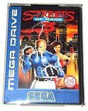 10x Fundas protectoras cajas juegos Sega Megadrive Mastersystem MD MS 0.3mm