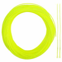 Fly Line WF2/3/4/5/6/7/8F Fluo yellow Floating Fly Fishing Line 2Loop Connectors