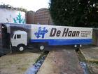 HERPA HO 1:87 811260 MERCEDES camion SEMI REMORQUE De Haan NEUF en BOITE