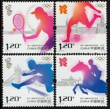CHINA 2012-17 GAMES OF THE XXX OLYMPIAD stamp set of 4