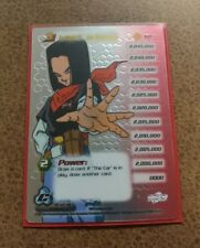 Dragon Ball Z Android 17, the Destroyer Lvl 3 High Tech FOIL Cell Saga DBZ CCG
