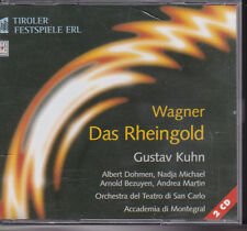Wagner Das Rheingold CD Opera Box Set  Dohmen Micheal Gustav Kuhn