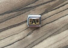 Nomination Classic Gold & Black Enamel A Blood Type Charm RRP £25