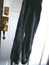"mens sz L/34 Black Bear full leg zip ski snowboard pants 32 ins 34 to 44"" ela wa"