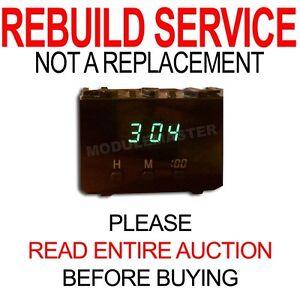 Rebuild Repair for 96 97 98 99 00 01 02 Toyota 4-Runner Clock