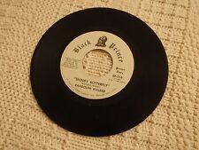 RANDOLPH WALKER SHINDY BUTTERFLY/SAME PROMO BLACK PRINCE 316    M-