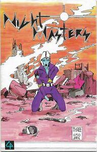 Night Masters #3 - VF - Bruce Patnaude - Black and White