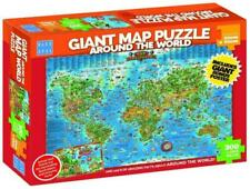 Blue Opal Giant Map Puzzle Around The World - BL01881 (300 Pieces)