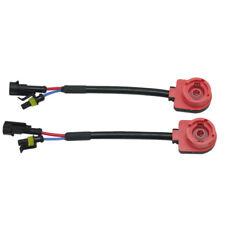 2pcs D2S D2R D2C D4 Xenon HID Bulb Ballast Socket Wire Cable Adaptor Harness