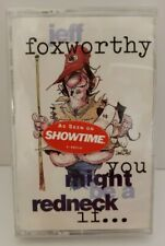 You Might Be a Redneck If... by Jeff Foxworthy Cassette, Jun-1993, Warner Sealed