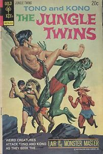 Gold Key The Jungle Twins 7 Oct 1973 Monster Master