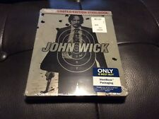 John Wick Blu-Ray DVD Digital HD Steelbook Best Buy Exclusive