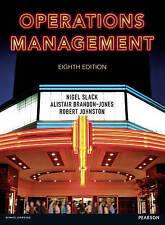 Operations Management, Brandon-Jones, Dr Alistair, Johnston, Prof Robert, Slack,