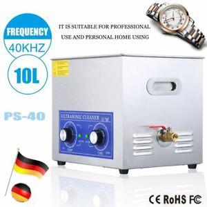 15L Ultraschallreinigungsgerät Ultraschallreiniger Ultrasonic Cleaner und Korb