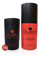 Dushi Instant Natural Hair Building Fibres 25g & Hair Locking Spray 100ml